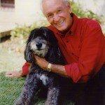 Bob Barker and his dog Federico