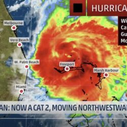 Image of Hurricane Dorian